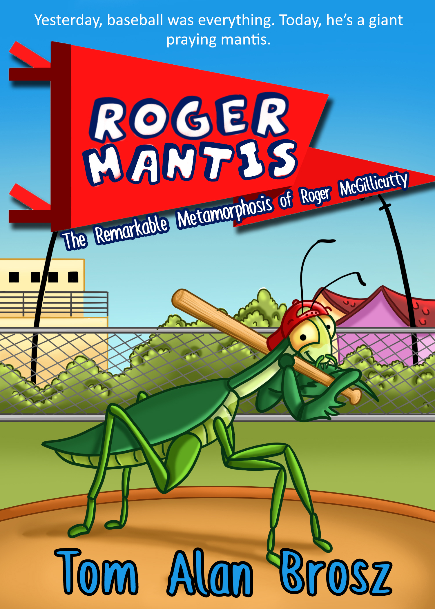 Roger Mantis Kindle cover